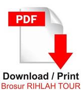 Brosur Umroh Rihlah Tour Bandung
