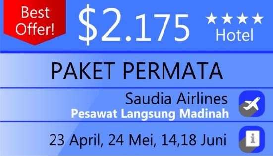 Paket Umroh Permata Rihlah Tour Bandung