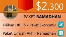 Umrah Ramadhan 2014
