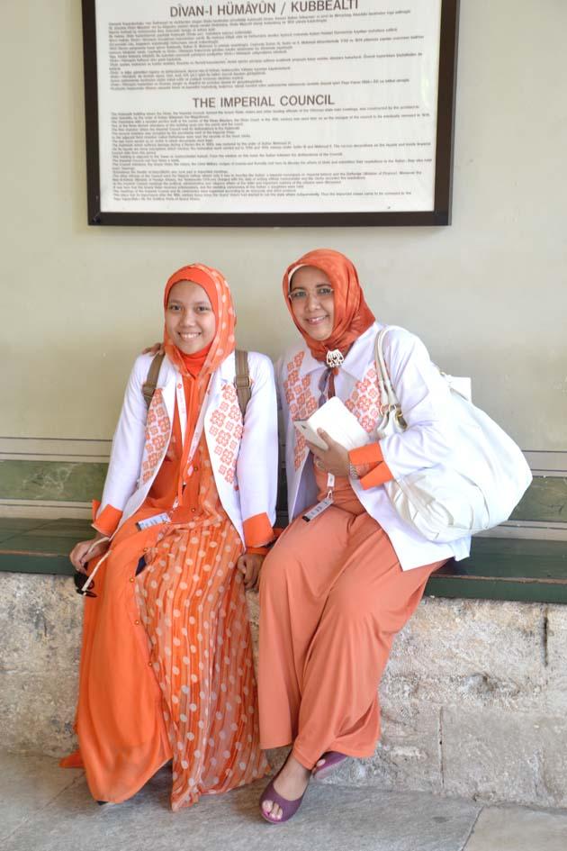 Bersantai Sambil Tour Topkappi Palace