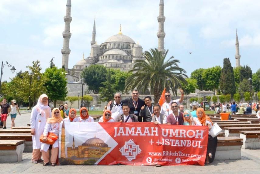Umroh Plus Istanbul Turki Foto Bersama