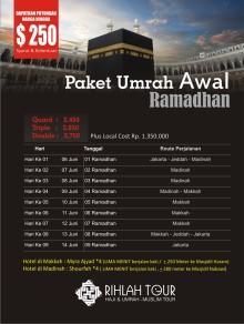 Umrah Ramadhan 2016