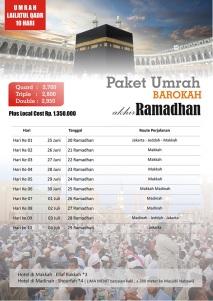 Umrah Ramadhan AKHIR