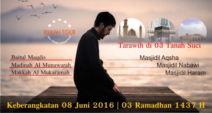 Umroh Ramadhan plus Aqsho