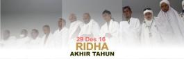 Ridha Akhir Tahun