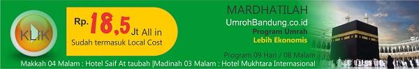 Program Umroh Murah di Bandung