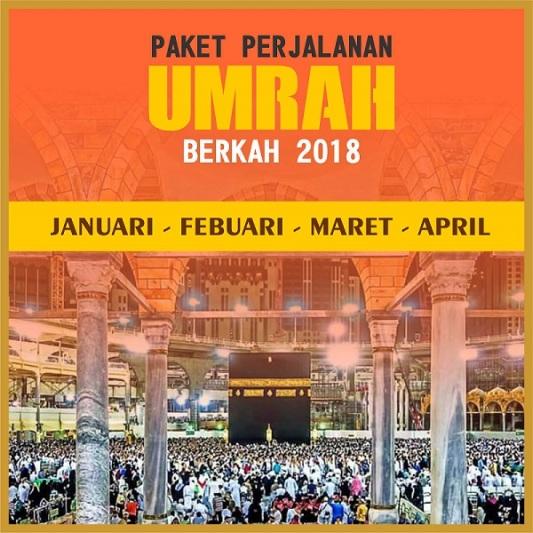 Umrah murah promo berkah 2018