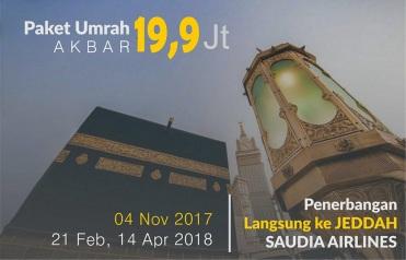 Umrah murah promo tahun 2018