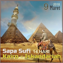 umroh Sufi Mesir Ziarah