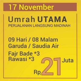 Langsung Madinah Umrah 2018
